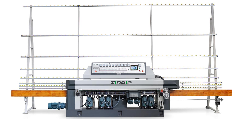 Szm9325P Straight Line Polishing Grinding Glass Edging Machine PLC Control