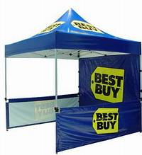 Pop up Marquee, EZ UP Tent, Event Promotional Marquee