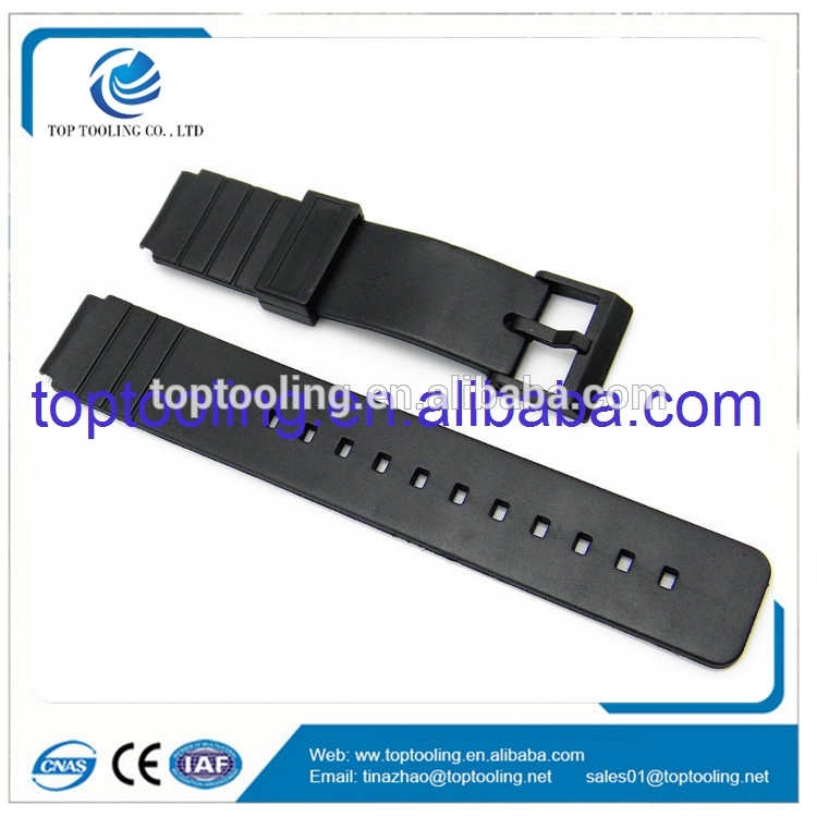 Shenzhen plastic injection mould maker molding watch strap tooling for sell