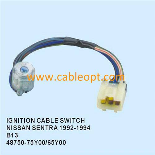 Ignition wire harness for cables witch Nissan Sentra,48750-75Y00/65Y00