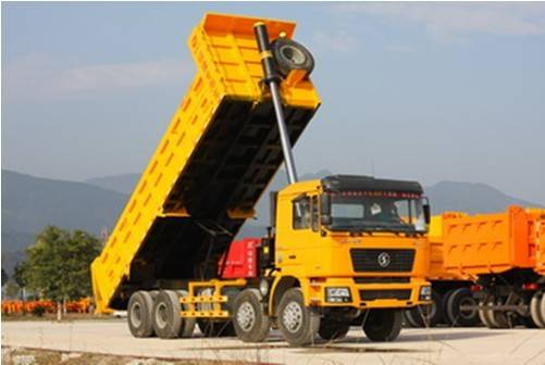 7.6 Meters Front Tipping Dump Truck