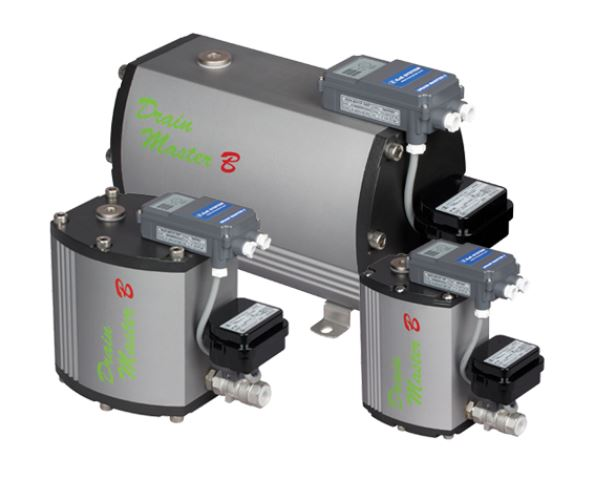 Drain master B - Auto drain trap with a solenoid valve for high pressure (1.2~60bar)