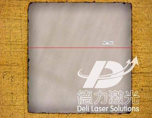 Laser cutting(drill)Ceramic circuit
