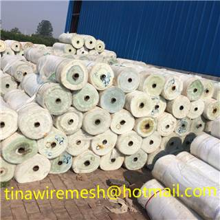Fiberglass mesh fabric with Logo printing