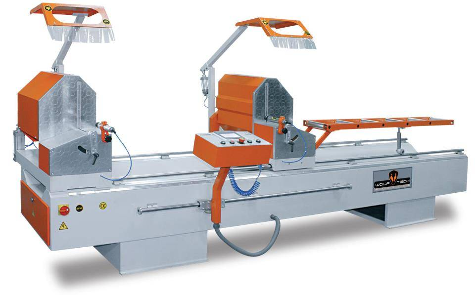 Automatic Double Head PVC Cutting Machine (Touch Panel)