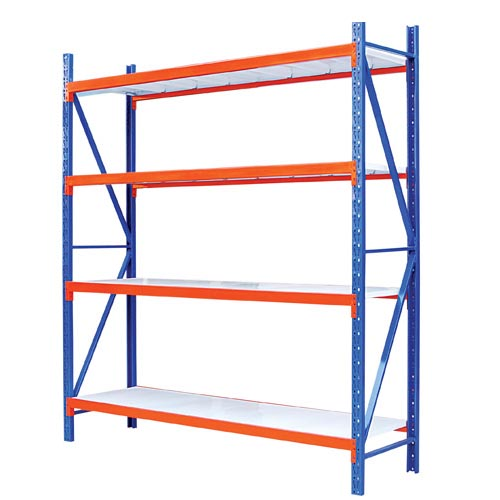 4 Layers Middle Duty Warehouse Shelving 2000x600x2000mm Industrial Shelving