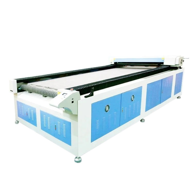 Big Format ES-1626A Auto Feeding Machine Fabric Laser Cutting Systems