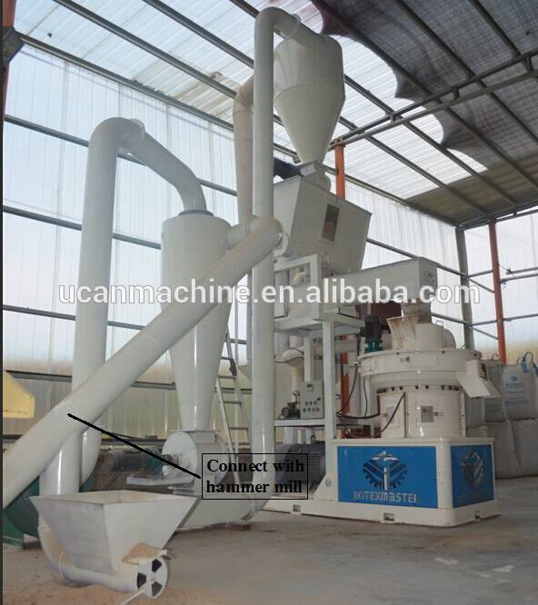 2015 Hot Selling EFB Pellet Machine with CE and ISO