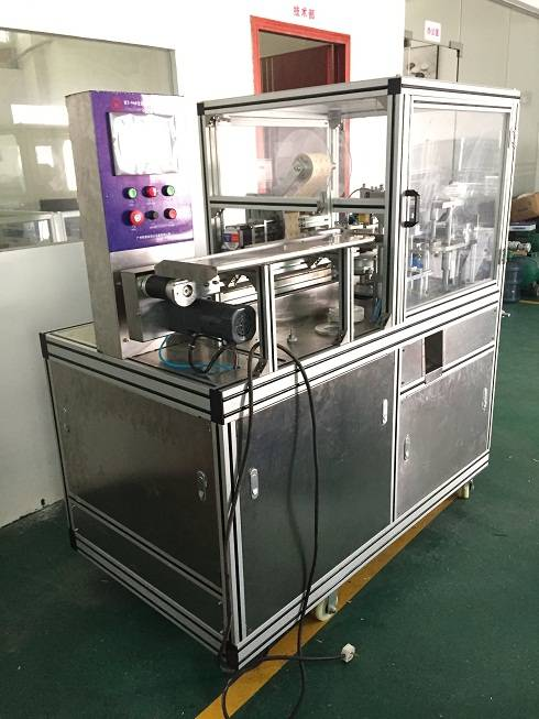 Auto Pleated Soap Packing Machine