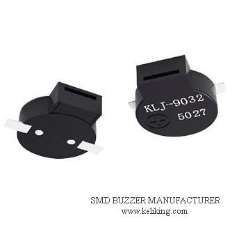 SMD Buzzer Passive Magnetic Buzzer Speaker Alarm Acoustic Component L10.5mmW 9.0mmH3.2mm, KLJ-9032