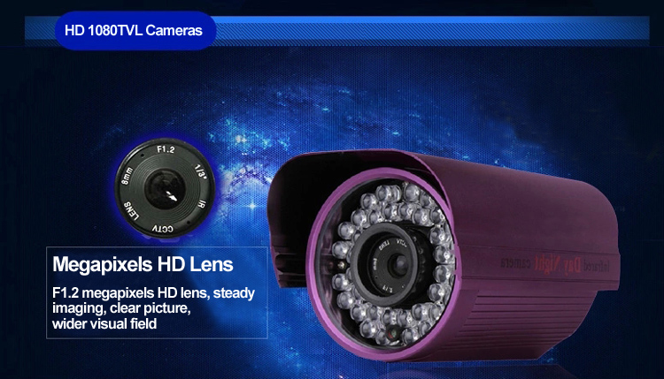 1080TVL 36High Speed IR LED Cameras