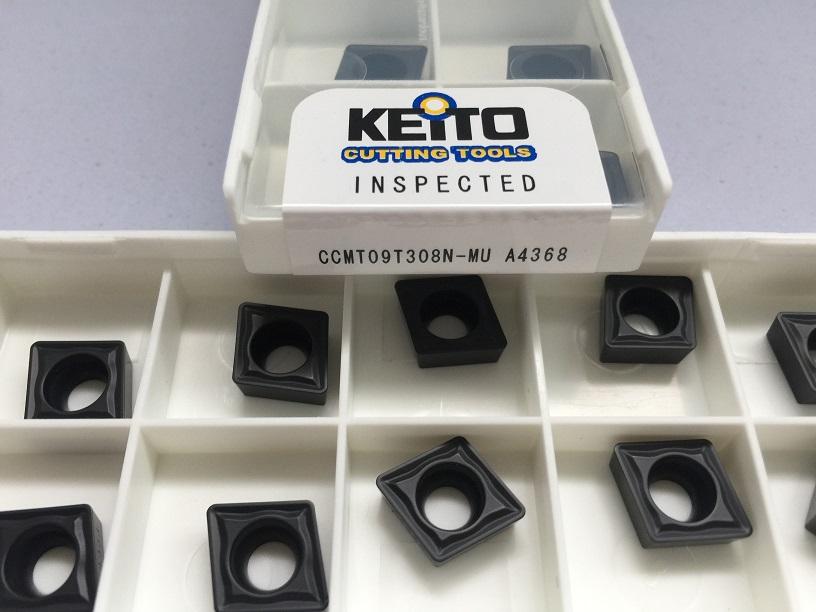 Carbide inserts CCMT09T308N-MU