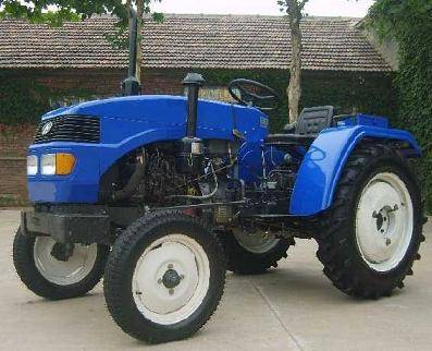 Four wheel superpower tractor for farm