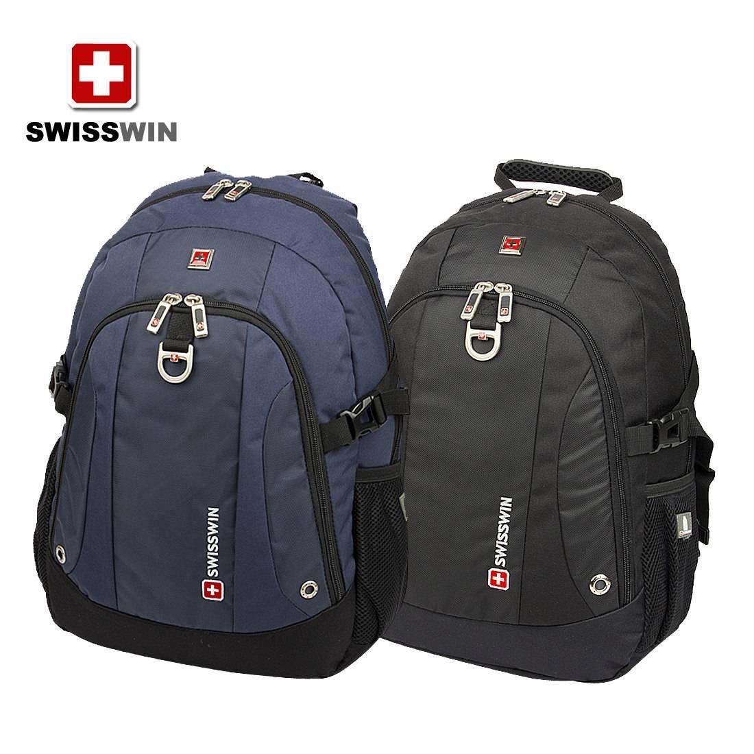 SWISSWIN Army knife computer shoulder backpack men backpack schoolbag Students backpack