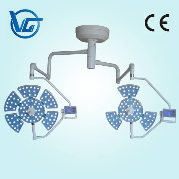 CE marked Hospital double heads led operating shadowless light