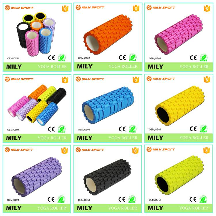 EVA sports medicine foam roller colorful