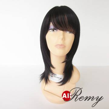 100% remy human hair wigs