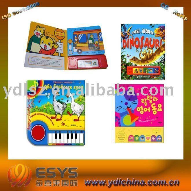 Music book for children's education