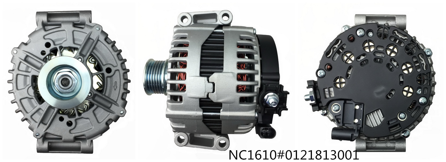 Mercedes-Benz Alternator NC1610 ( 12V 220A, 0121813001)