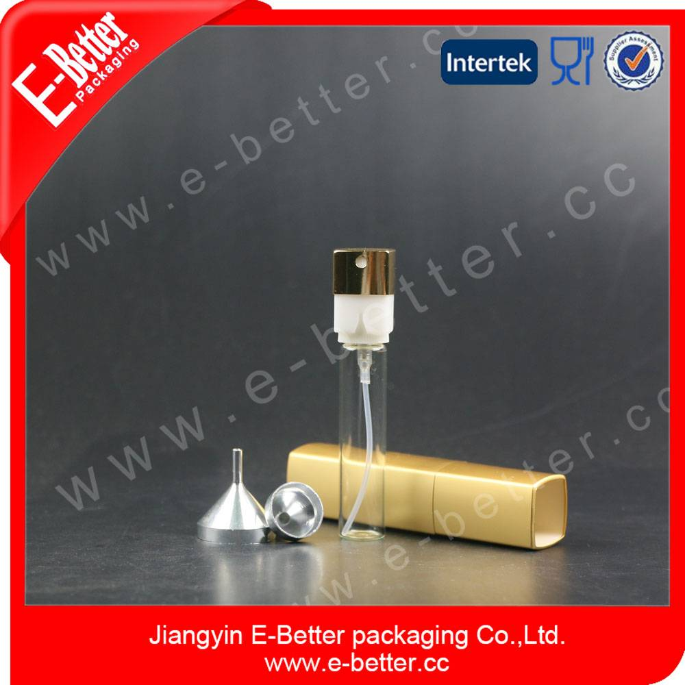 aluminium empty liquid glass bottle from china manufacturer