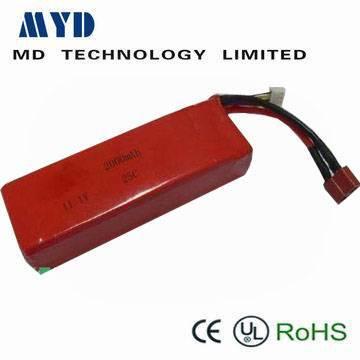 li-polymer RC model battery