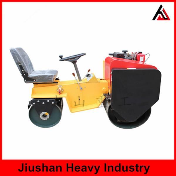 JS-YL-700J -1 Seat type double drum roller