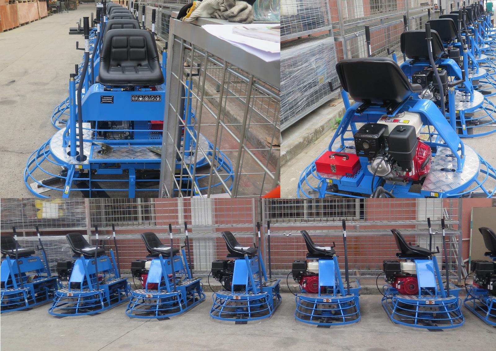 ERAY-830 concrete ride-on power trowel