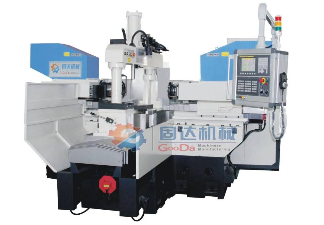CNC duplex milling lathe