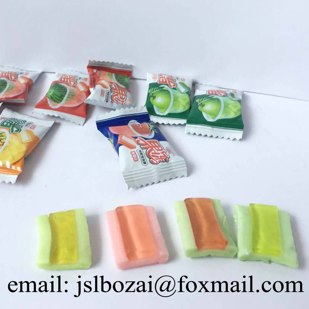 4g Jelly Bubble gum without Artificial Sweeteners