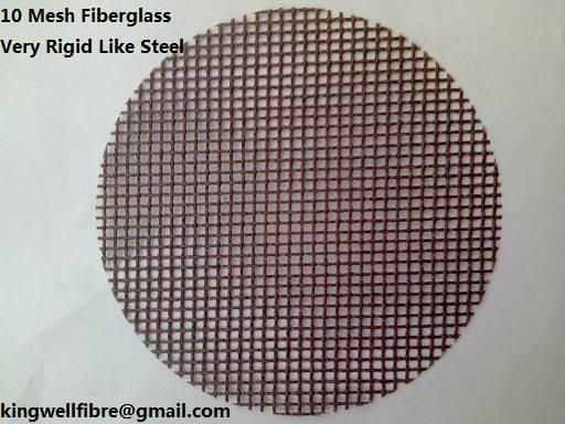 10 Mesh Fiberglass for Aluminium Filtration