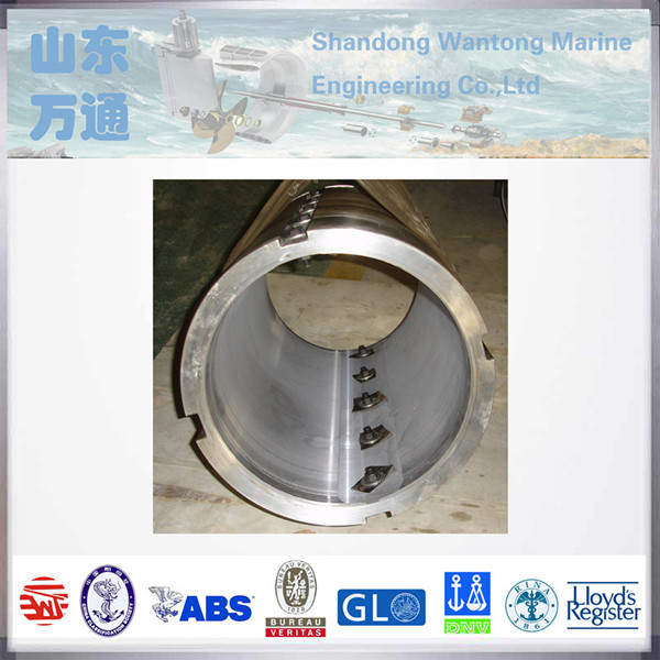 Marine Stern Shaft bearing oil lubricated White Metal Bearing boat accessories