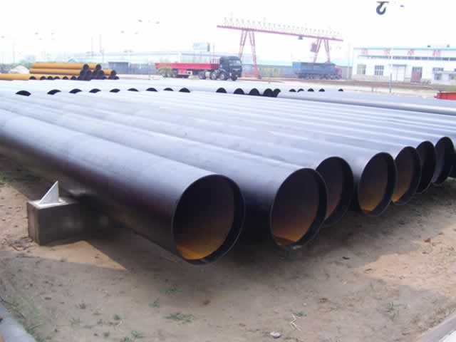 ASTM standard LSAW steel welded pipe for construction