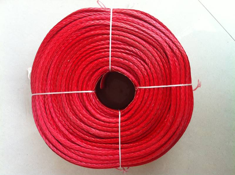 winch rope/UHMWPE 12-strand rope/