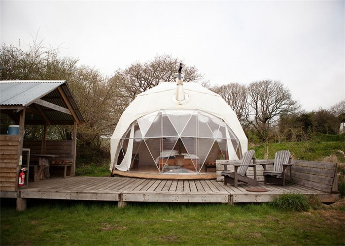 Wholesale Luxry Aluminum Hotel Dome Tent With PVC cover From China Supplier