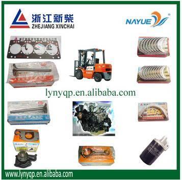 Zhejiang Xinchang Xinchai diesel engine XC485 XC490 XC495 XC498 parts for HELI forklift