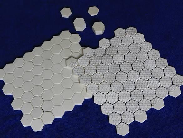 Alumina mosaic