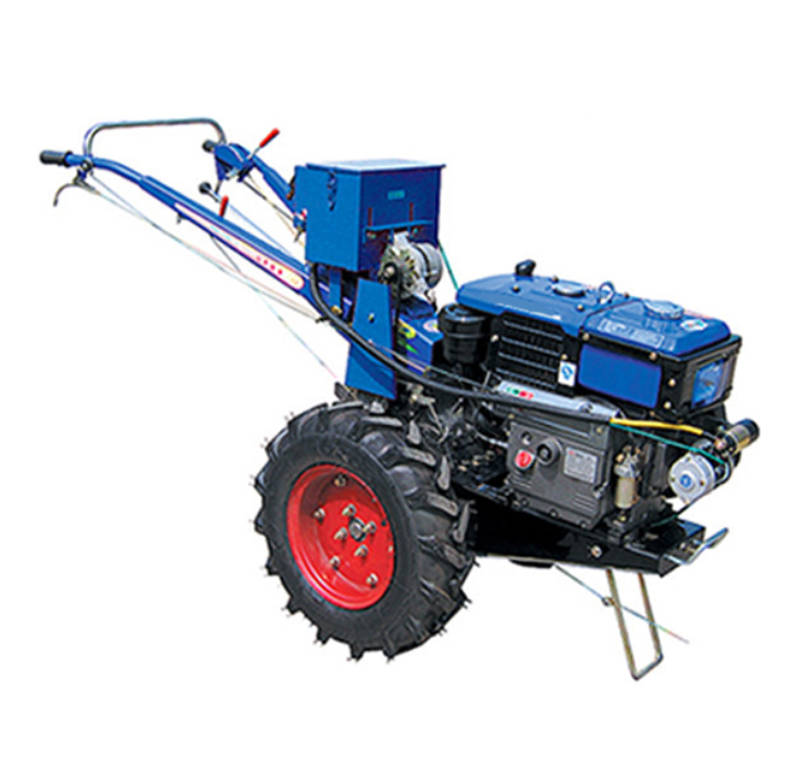 walking tractor with Chinese famous brand diesel engine