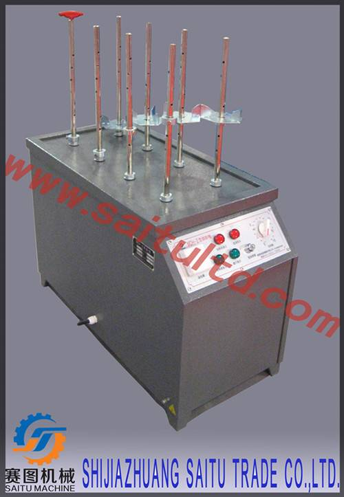 Electric dryer for portable and wheeled fire extinguishers