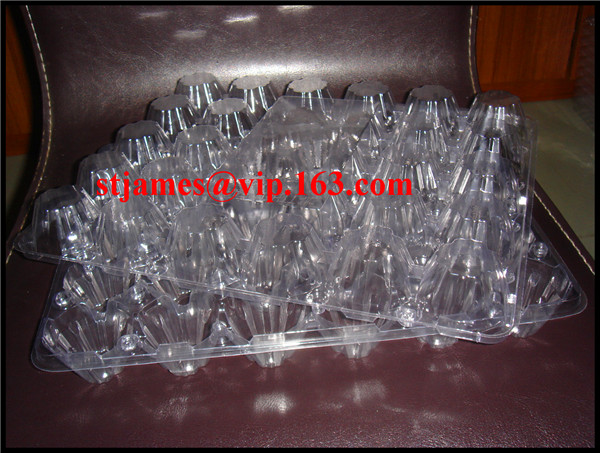 Sales promotion, Economical high quality strong PVC Egg Tray for 30pcs eggs
