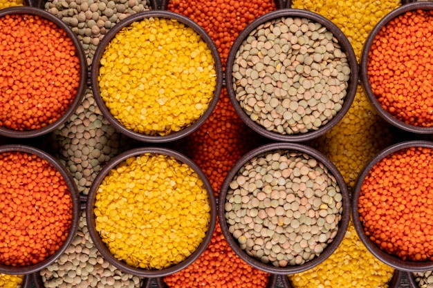 Red, Yellow and Brown Lentils For Sale