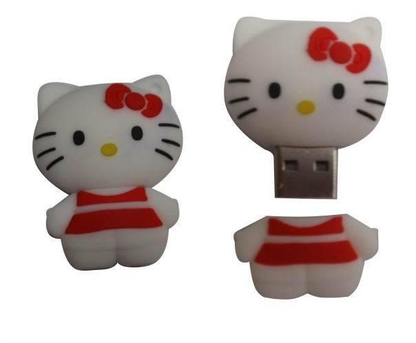 8GB Portable Cartoon Cat USB Memory Stick