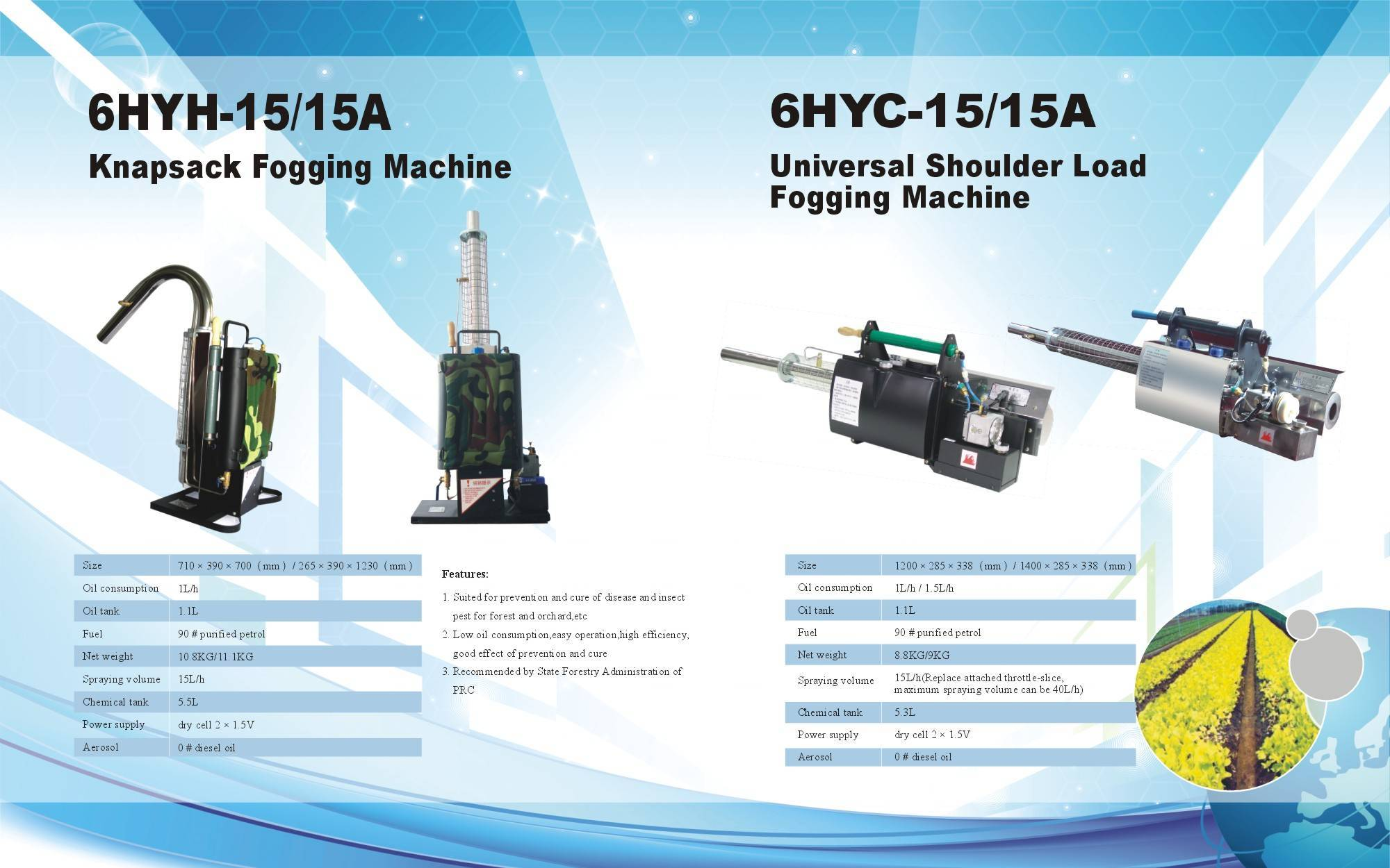 Thermal Fogging machine for pest control