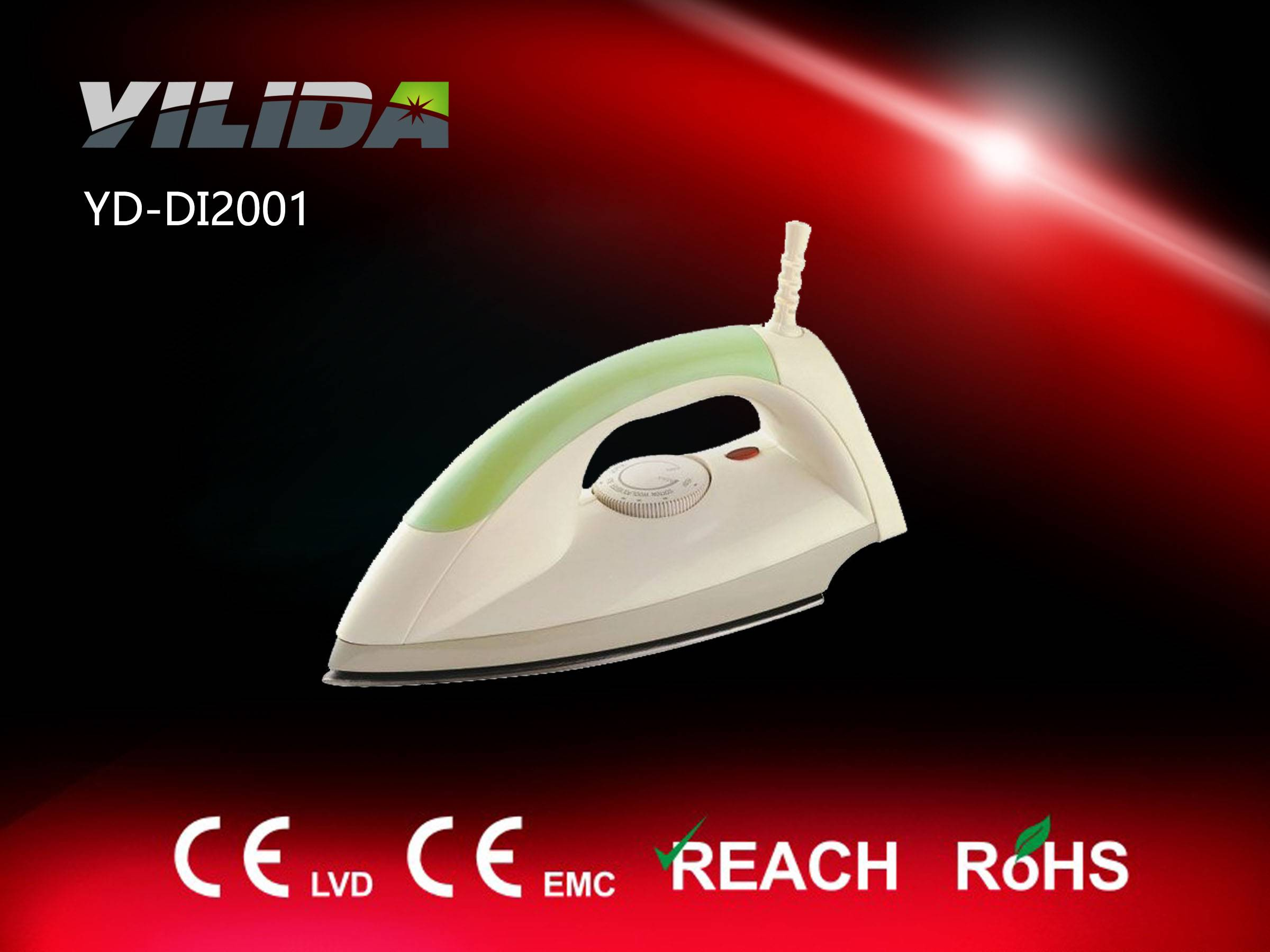 Electric dry iron, automatic iron popular in Mid-east