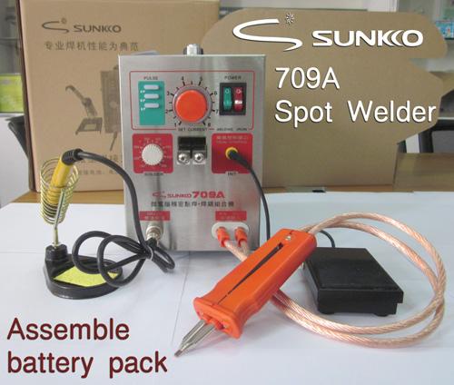 709A High Power Battery Spot Welder & Soldering Station 110V or 220V