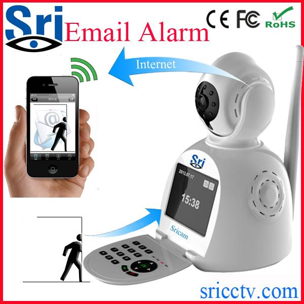 Wifi Wireless IP Camera CCTV Camera with external microphone