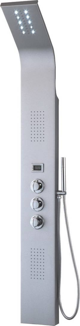 digital temperature contemporary spa furniture shower panel