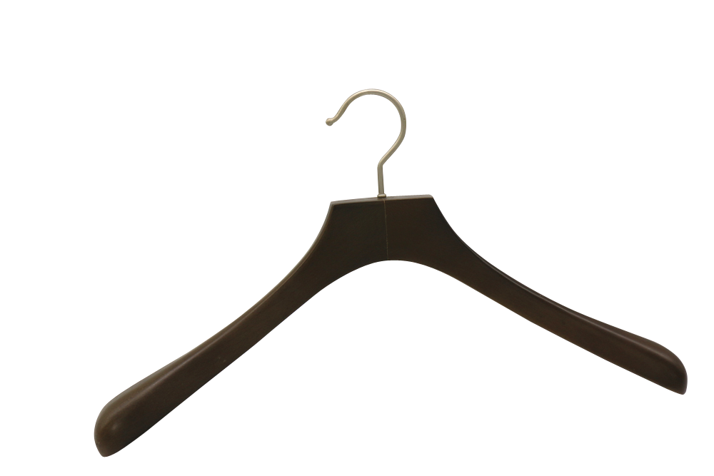 Germany Berlin hot sale black wooden hangers