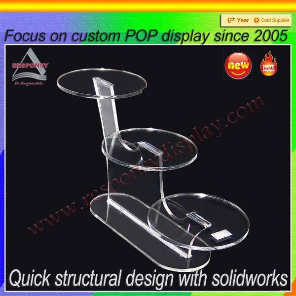 New product acrylic display shoe display stand