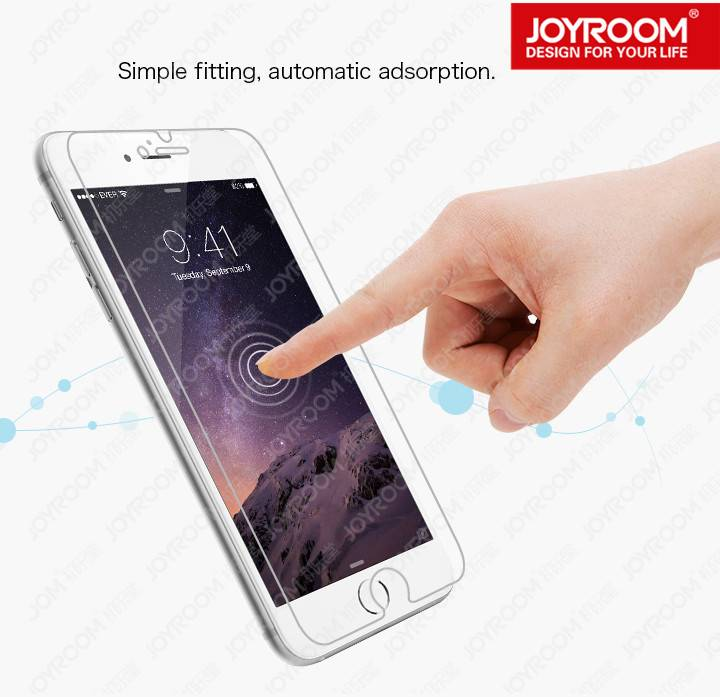 JOYROOM 9H 2.5D for iphone 6 tempered glass screen protector tempered guard