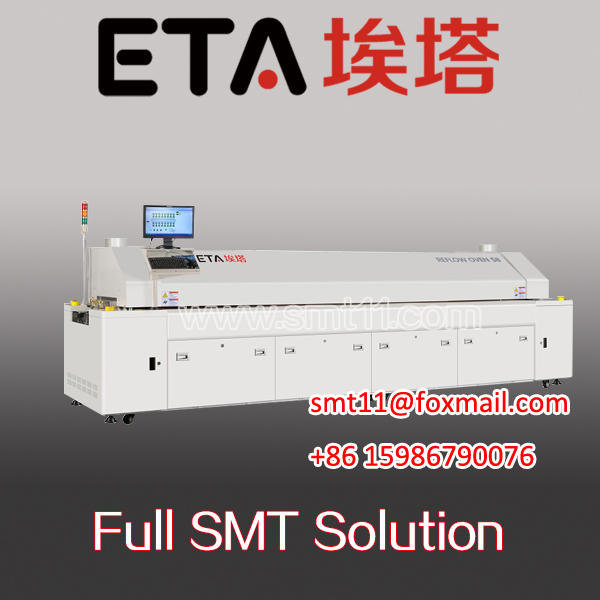 SMT Assembly Large Size Hot Air Lead Free Reflow Soldering